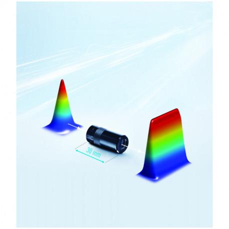 Ópticas generadoras de líneas y patrones