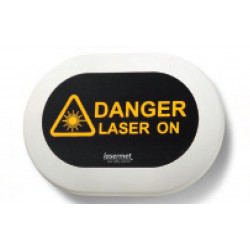 LED laser warning signs